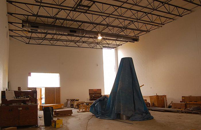 Construction of Cesar E. Chavez Elementary School, Gymnasium