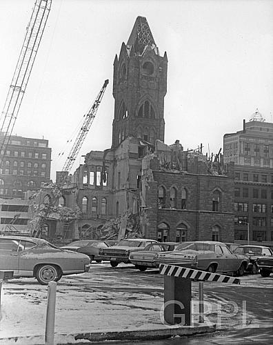 Destruction of City Hall