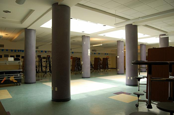 Iroquois Middle School - Cafeteria