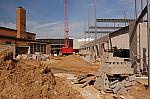 Construction of Cesar E. Chavez Elementary School, Looking West