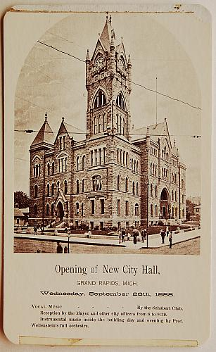 Opening of New City Hall