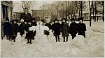 Turner School Students in the Snow