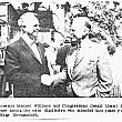 Congresesman Gerald R. Ford and Governor G. Mennen Williams at the Apple Smorgasbord