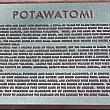 Potawatami Indian Plaque