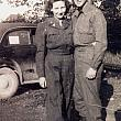 Joy and Russ Lillie in Military Uniforms