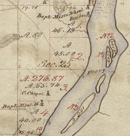 1837 Survey west of Grand River