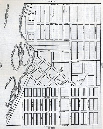 Village of Grand Rapids, 1836