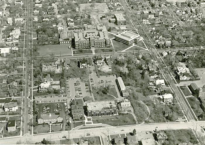 Davenport College, Aerial View
