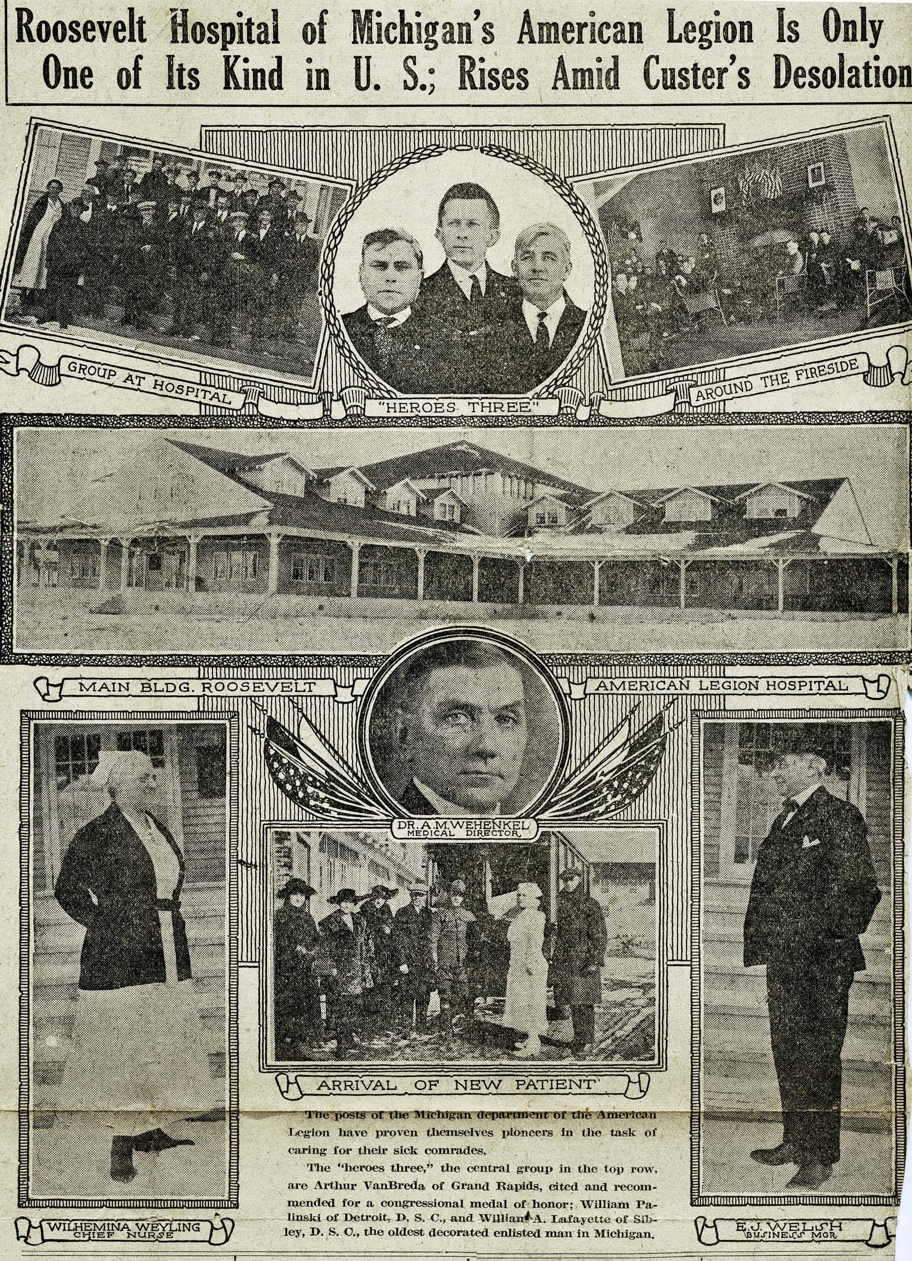 John T. Alexander, American Legion Post 17