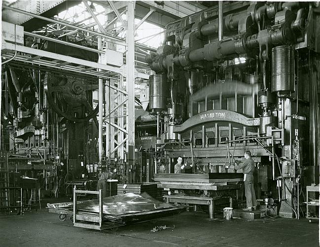 large stamping press