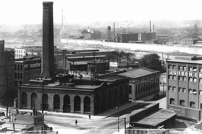 Underground grand rapids myths and facts history grand for Lights company