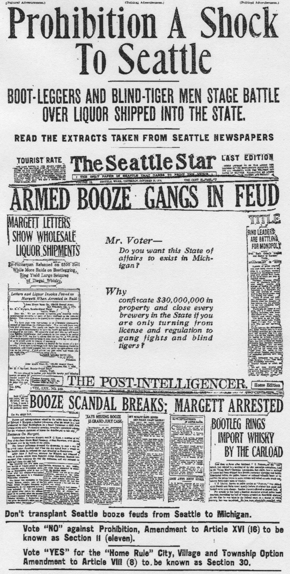 1924-newspaper-Long-essay-on-NON-ENFORCEMENT-of-PROHIBITION-as-it ...