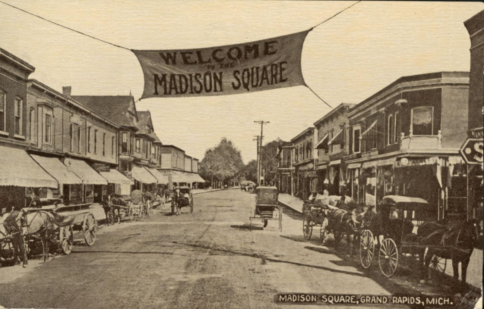 Madison Square History Grand Rapids