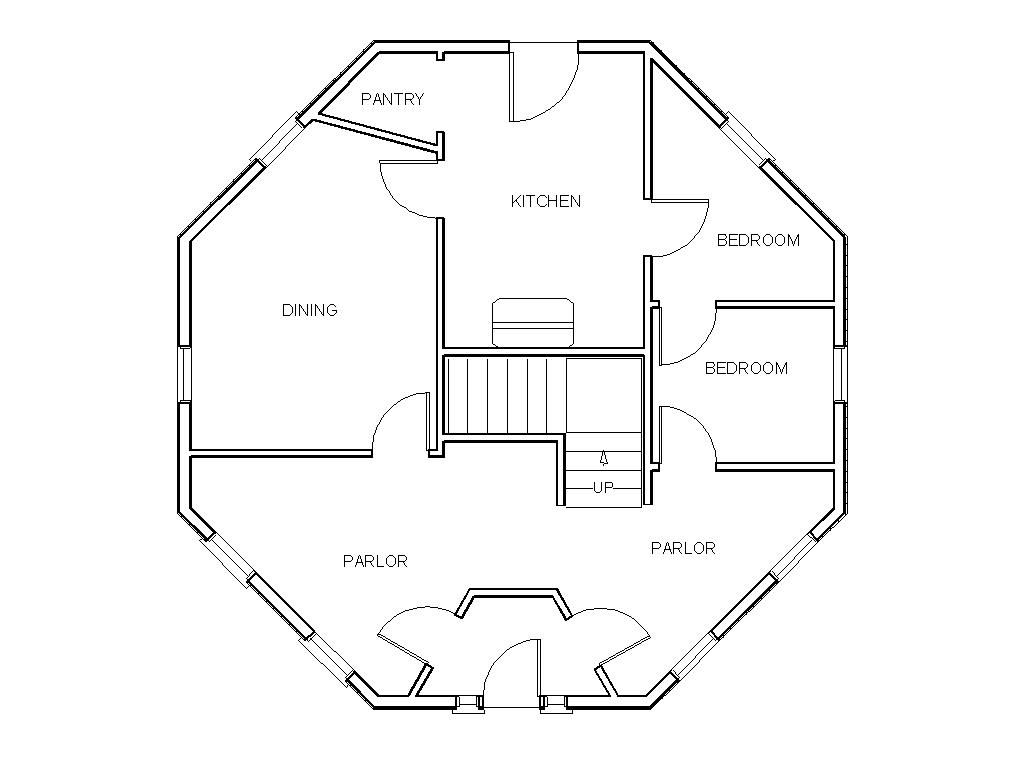 octagon home floor plans