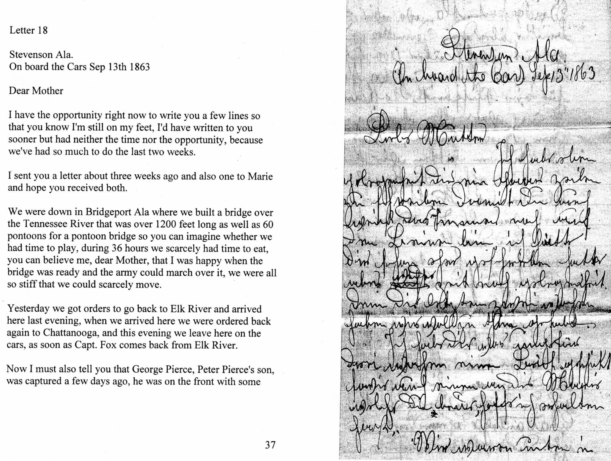 Herkner civil war letter history grand rapids herkner civil war letter aljukfo Image collections