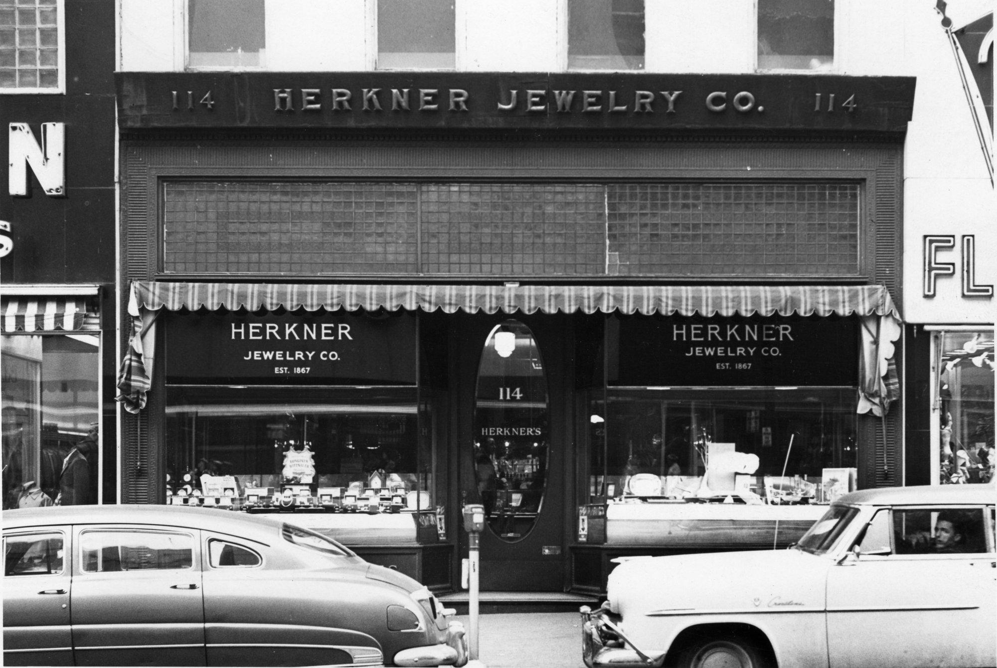 Herkner Jewelry 1950s History Grand Rapids