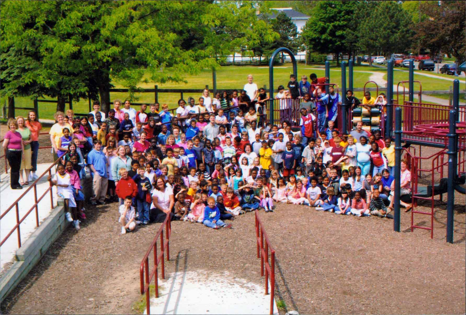 Fountain St. Elementary School Playground | History Grand ...