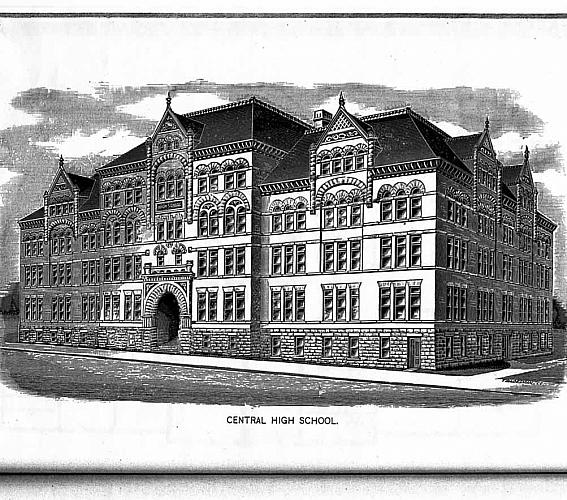 Central High School Floor Plans History Grand Rapids