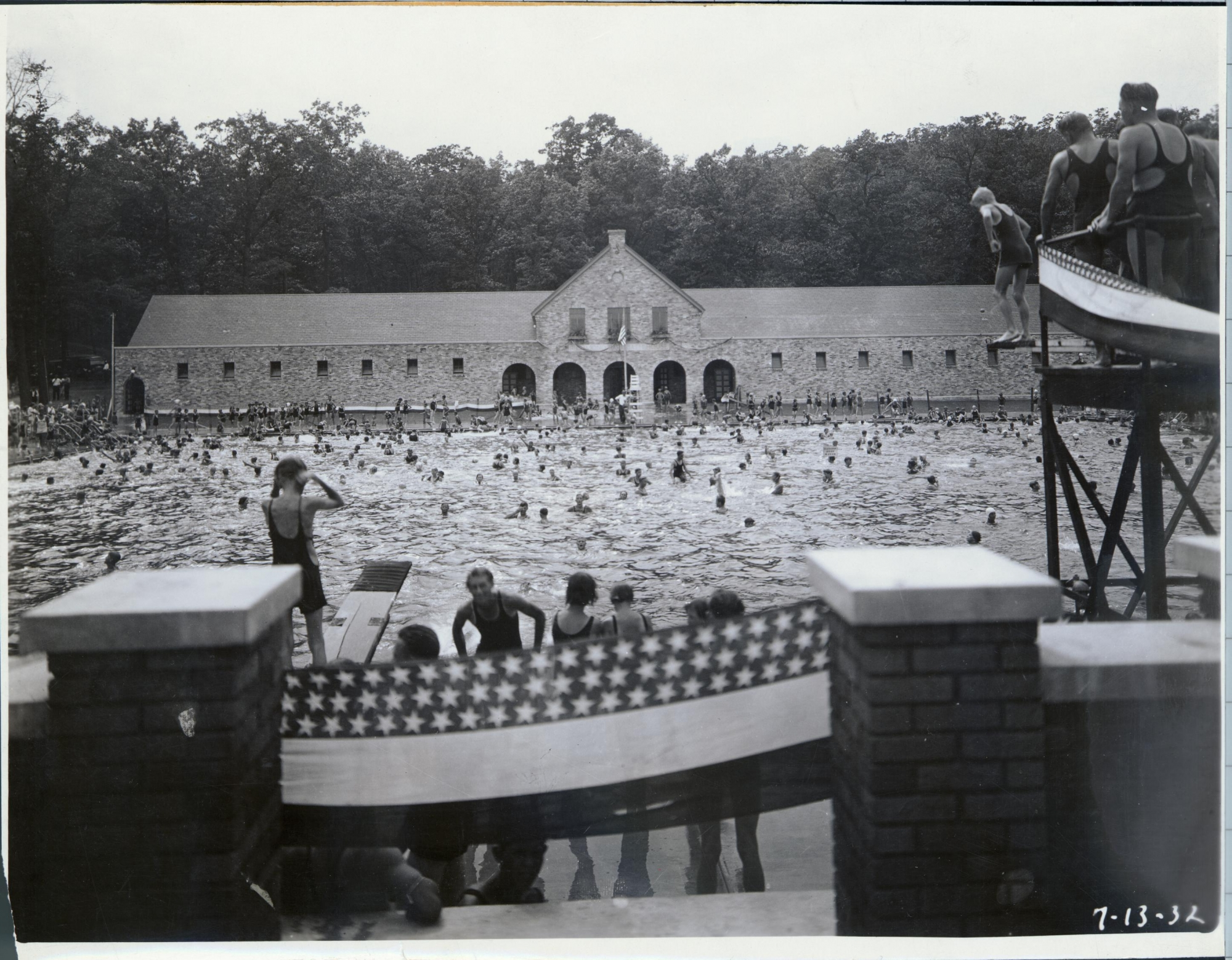 Richmond Park Pool On Opening Day 2 History Grand Rapids