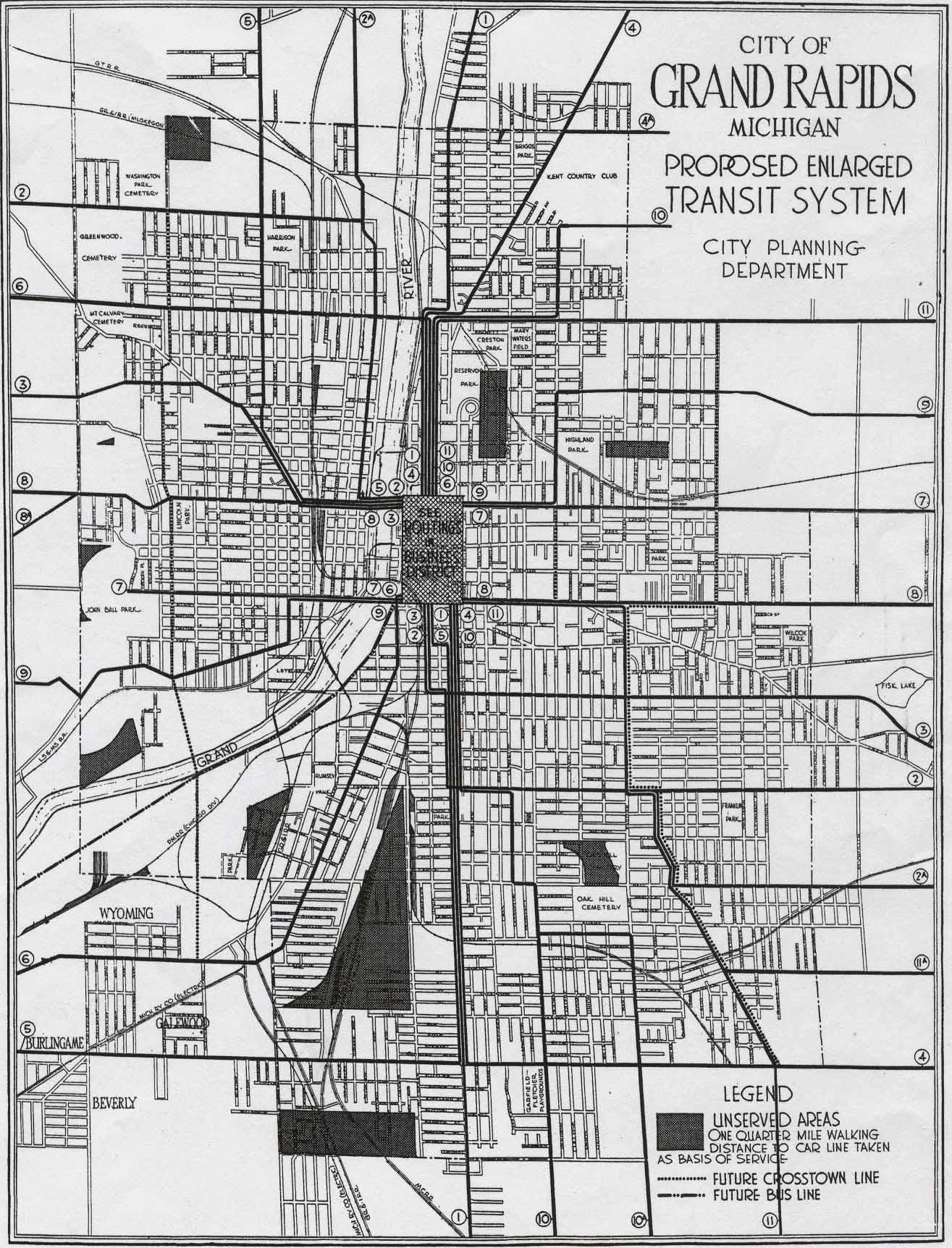 grand rapids transit system map. grand rapids transit system map  history grand rapids
