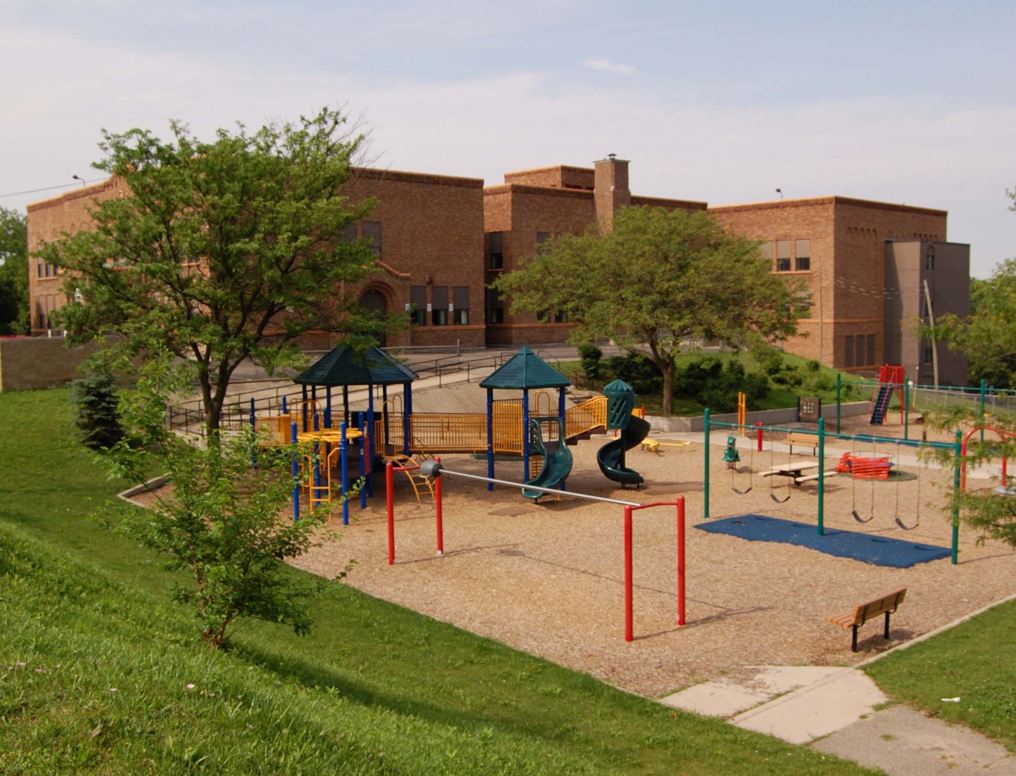 Eastern Elementary School - Playground on North Side | History Grand ...