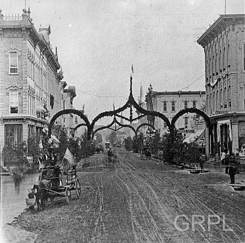 Grand Rapids Celebrates The Centennial In 1876