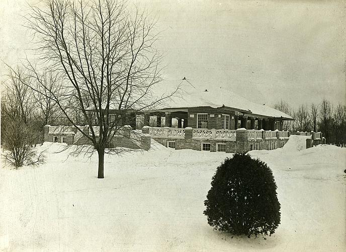John Ball Park, Pavilion in Winter
