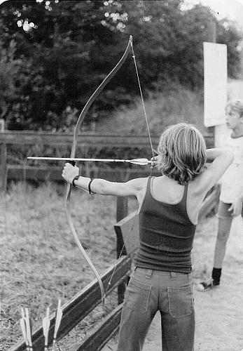 Archery at Camp Blodgett