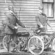 Two Motorcycle Policemen