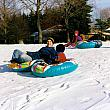Sliding on the Hill at Northpointe Christian School