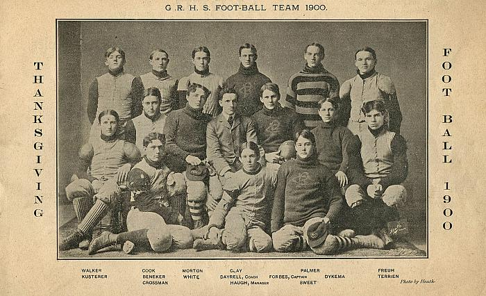 Grand Rapids High School Football Team