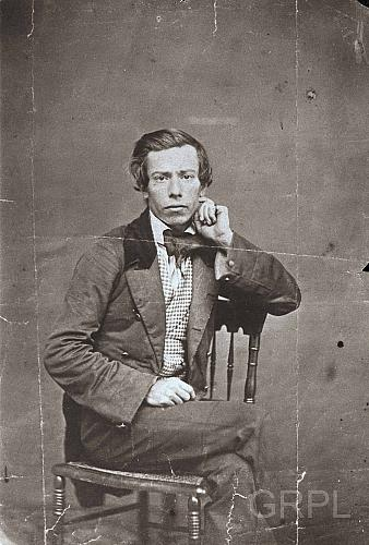 Self portrait of James M. Keeney