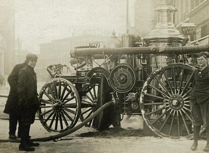 Steam Fire Engine No. 8