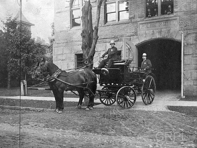 Grand Rapids Police, Horse Wagon