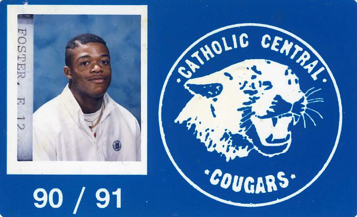 Catholic Central ID card
