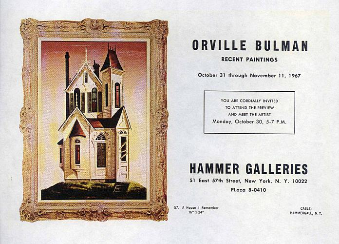Bulman at Hammer Galleries