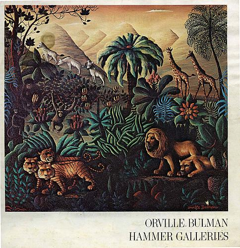 Bulman Painting, Inspired by Rousseau