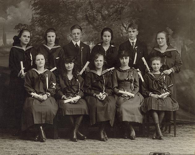 Hall School Graduation January 1919 (1)