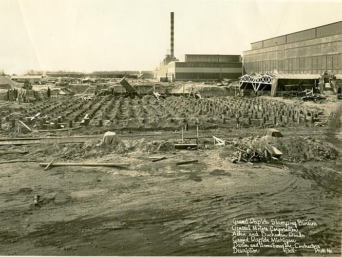 Construction of the GR Metal Stamping Plant