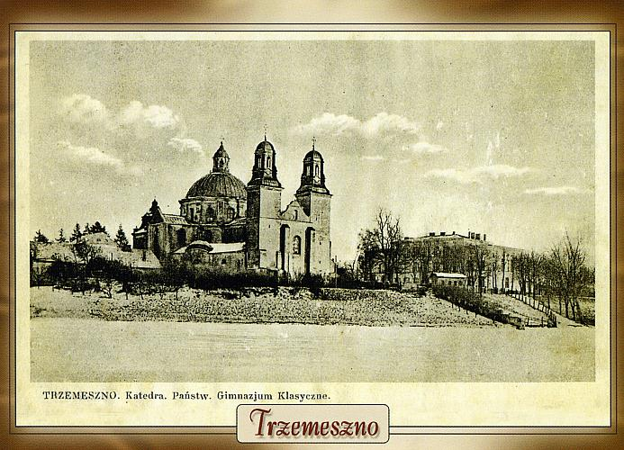Cathedral and School, Trzemeszno, Poland, post-1926
