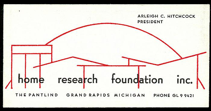 Arleigh C. Hitchcock's Business Card