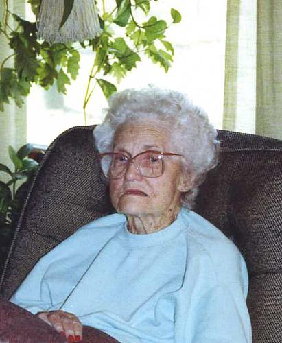 Elderly Aleta Vogel Brown