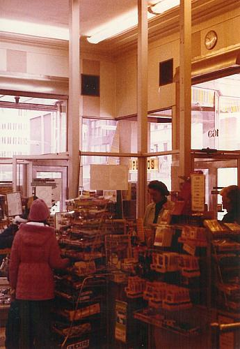 Entrance of Woolworths Dime Store, Interior