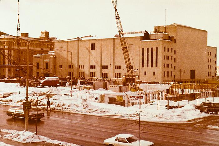 DeVos Performance Hall, Construction No.1