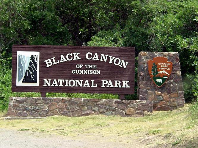 National Park Sign