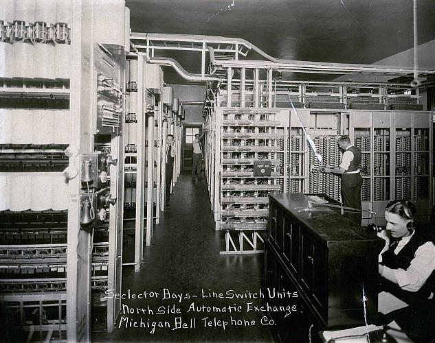 Bell Telephone Line Switch Units