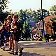 Ottawa Hills Hollyhock Lane Parade, 2000