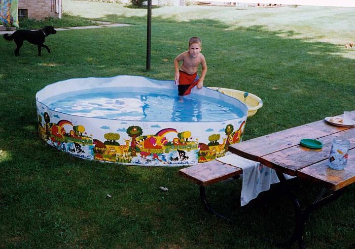 Backyard Wading Pool
