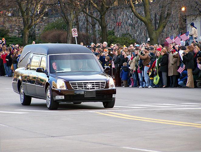 Gerald R. Ford Funeral Procession