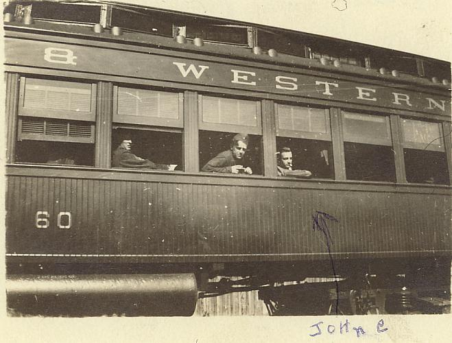 John VanHammen Returning from WWI